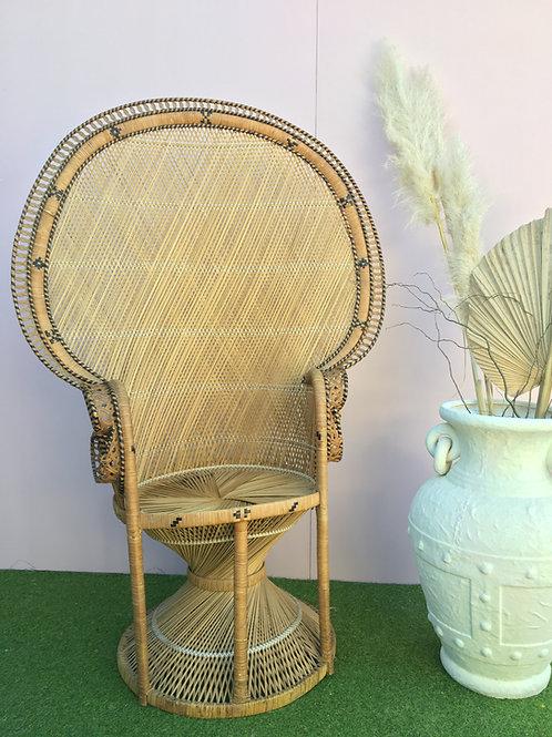Boho Peacock Chair