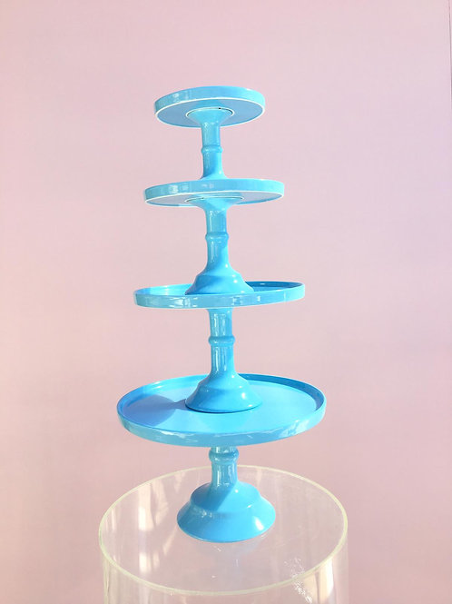 Pastel Blue Cake Stands