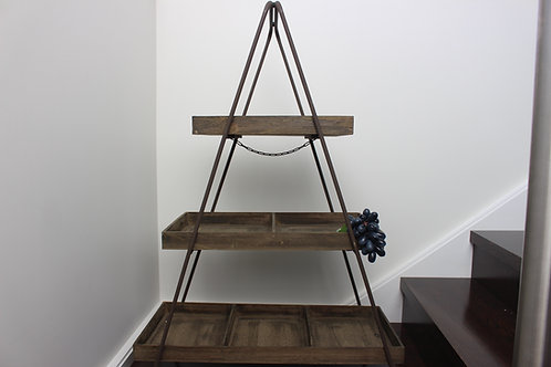 3-Tier Timber Stand