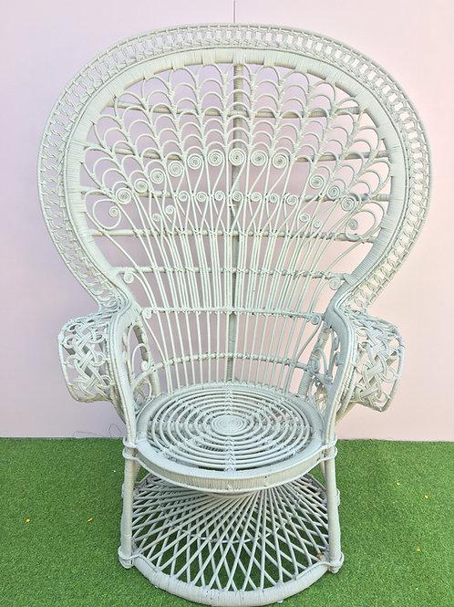 Grey Peacock Chair