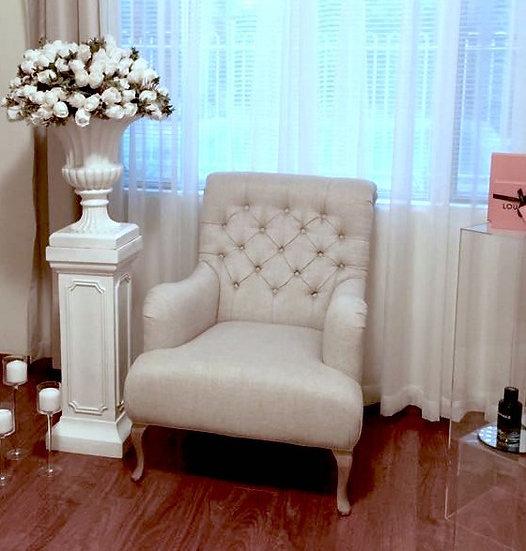 Beige Single Chair