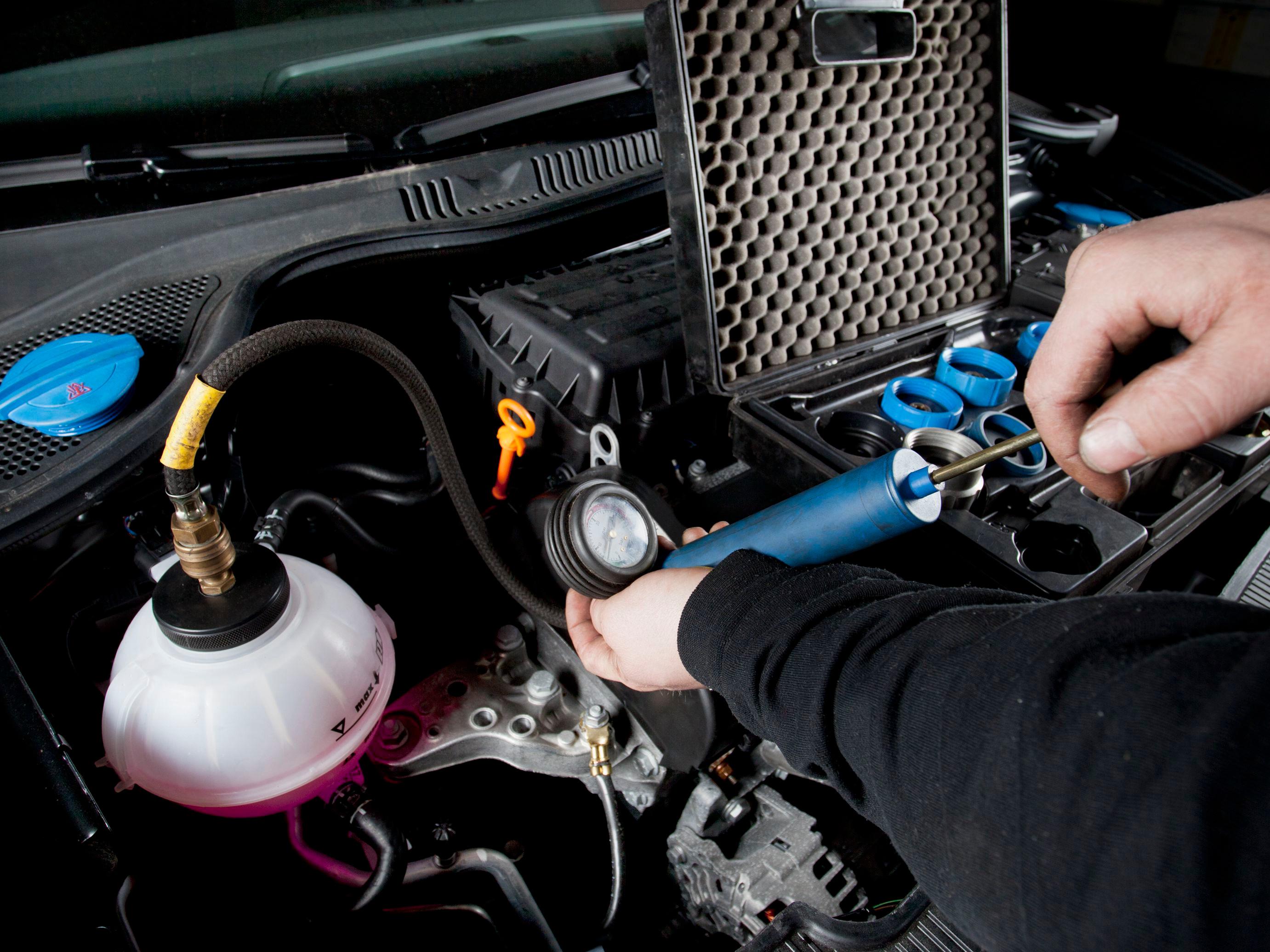 Cooling System Test, Diagnostic & Repair