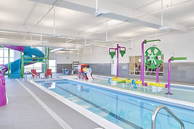 Waterpark, Splash Toys, Train Slide, Tipping , Marriott Hotel Brand