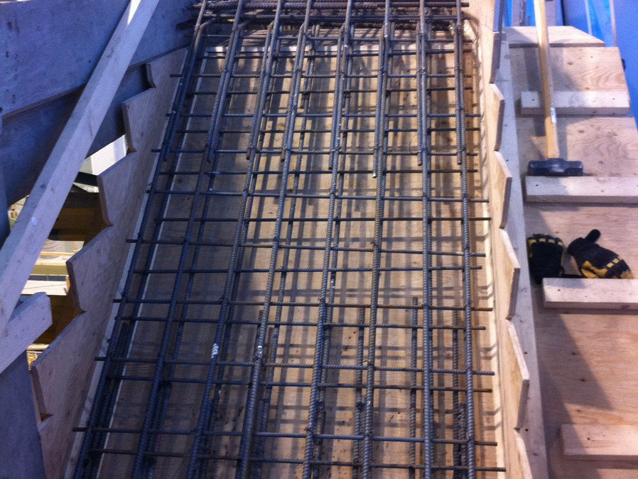Rebar Suspended Stairs