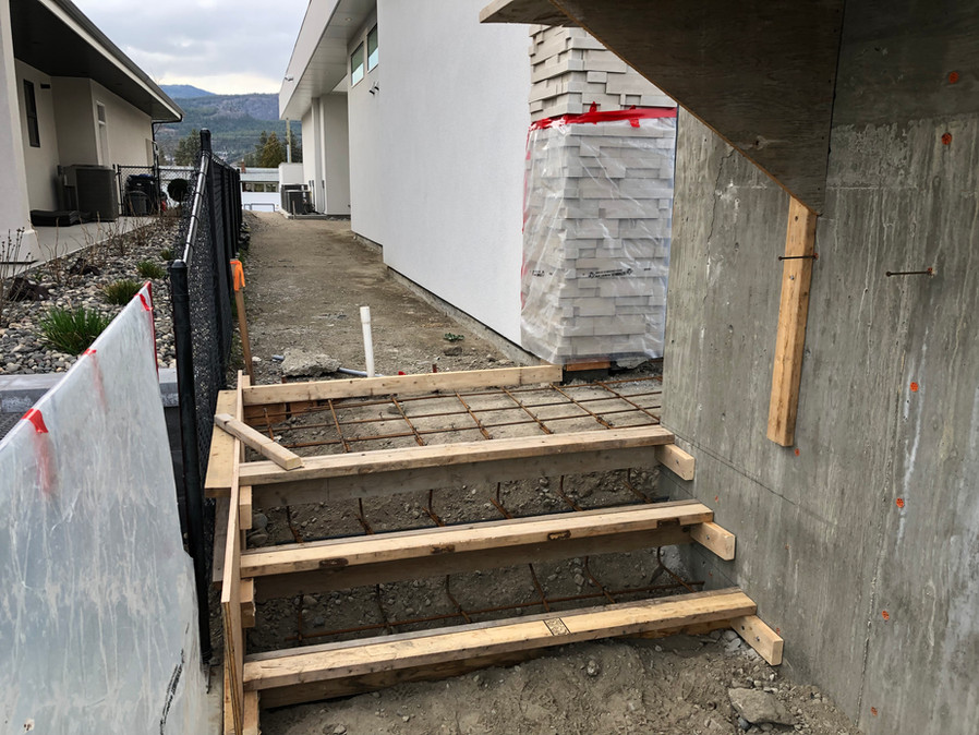 Concrete Stairs & Deck