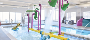 Tipping Buckets, Turtle Spray, Gizmos & Gadgets Interactive Play toys, Swimming Pool, Marriott Hotels