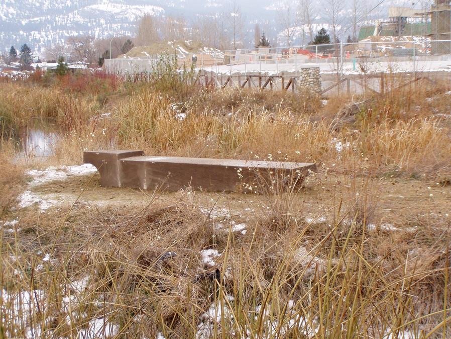 Concrete Bench Base