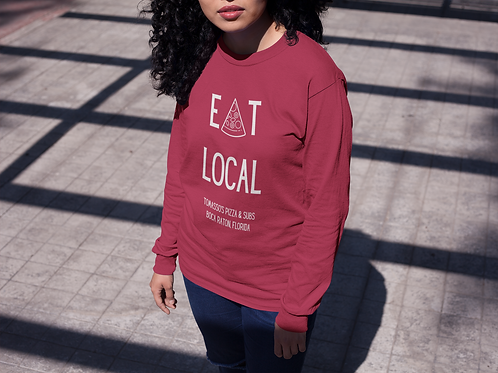 Eat Local: Long Sleeved Tomasso's Tee!