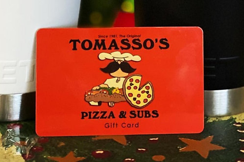 $50 Tomasso's Gift Card