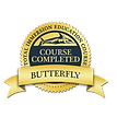 Total Immersion Butterfly Coach badge
