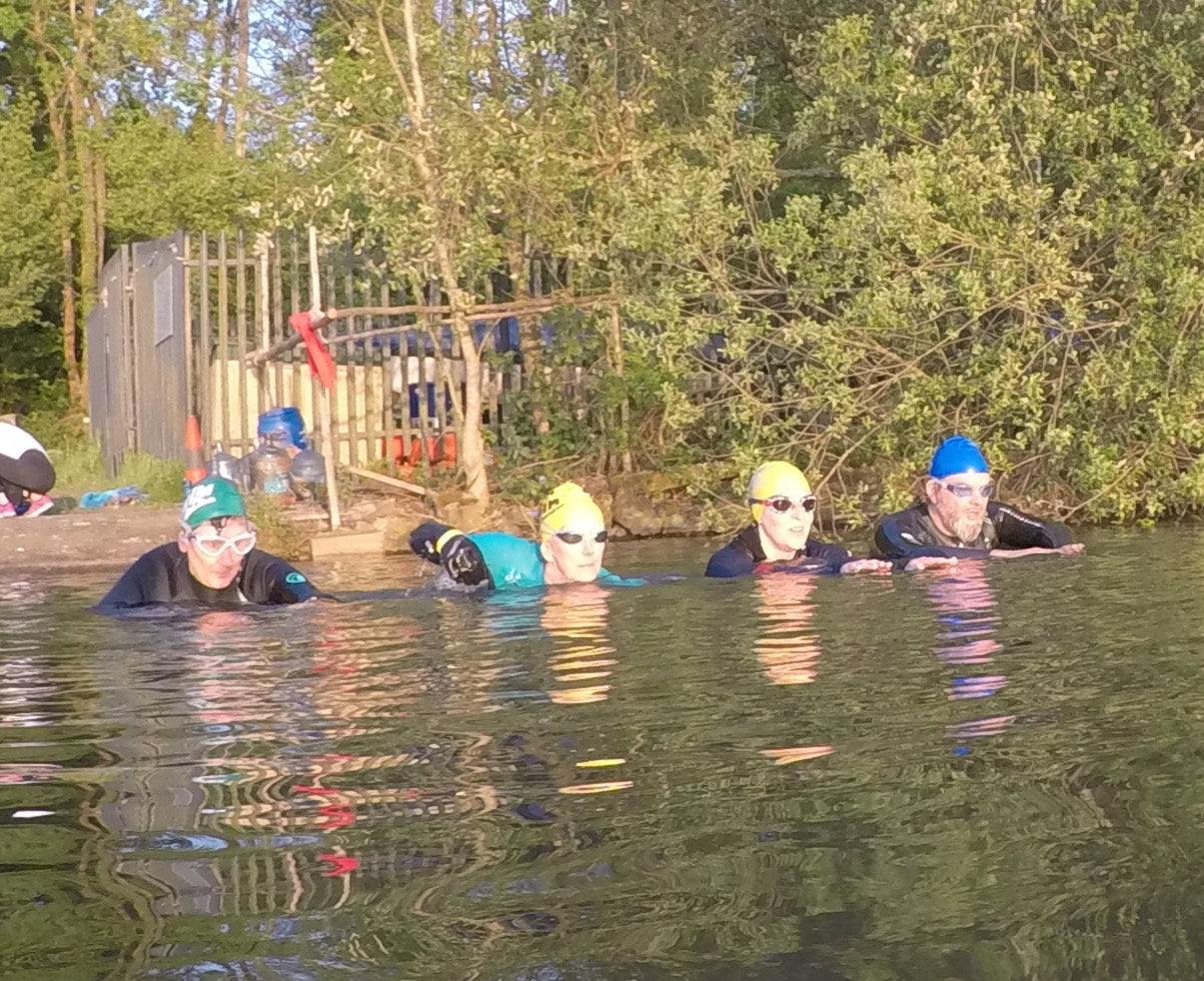 4-2-1 Open Water Swim Coaching