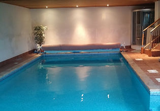 photo of swimming pool used for lessons