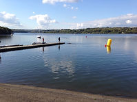 photo of swimming area at WeirWood Reservoir