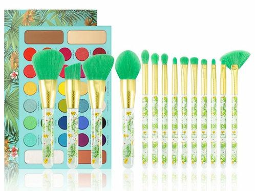 Tropical Palette Brush Set