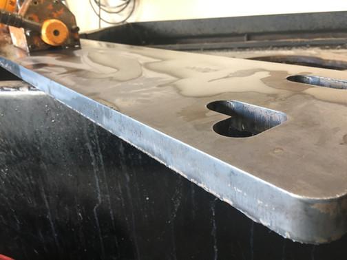 """1"""" plasma cut steel"""
