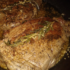 Rosemary Garlic Butter Ribeye