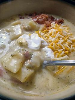 Broccoli, Potato Soup