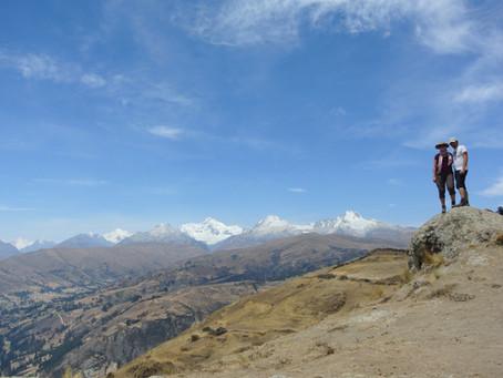 Huaraz Part 1 - Au pied de la Cordillière Blanche - Acclimation & Lagune.