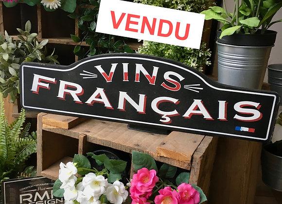 Vins Français décoration