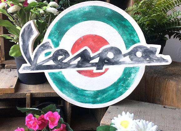 Logo Vespa décoration