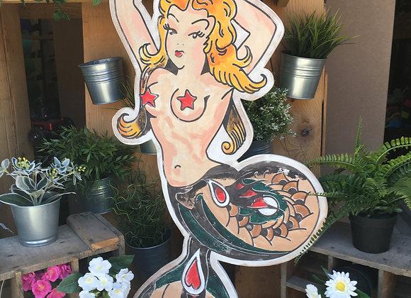 Pin Up Sailor Jerry décoration