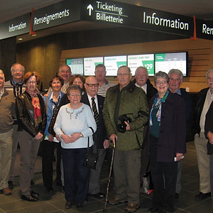 Branch Visit to the Cdn War Museum