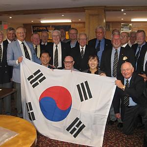 Visit by Korean Military Attaché