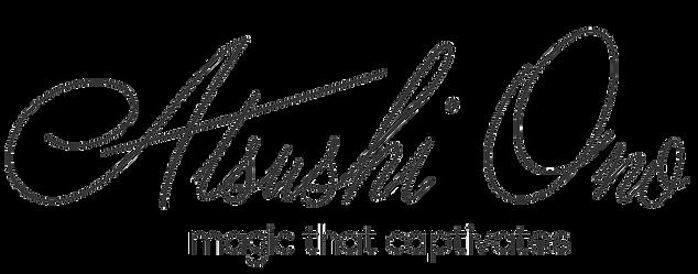 Calgary Corporate Events | Calgary Magician ATSUSHI ONO logo