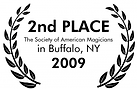 2nd place at the society of American Magicians in 2009