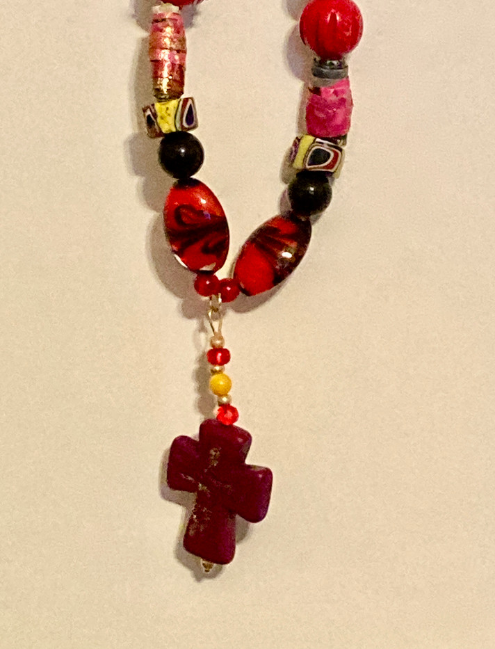 Necklace with cross  pendant_1