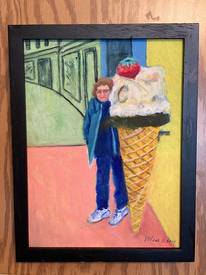 Ice Cream Store Sign, Florence_2