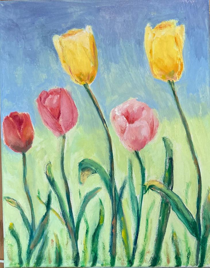 Dancing Tulips_1