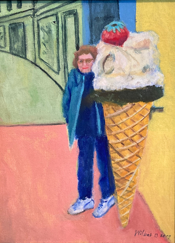 Ice Cream Store Sign, Florence_1