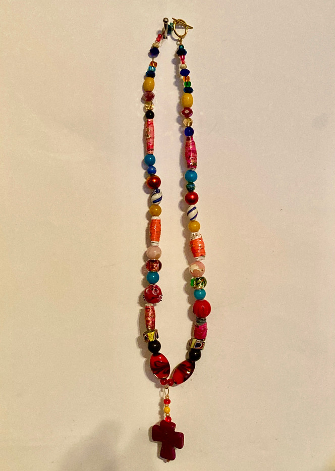 Necklace with cross  pendant_2