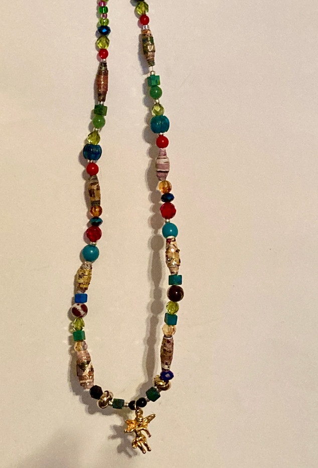 Necklace with Angel Pendant_2
