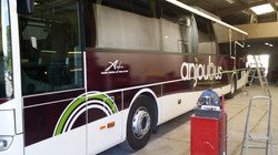Covering AnjouBus Mercedes Intouro