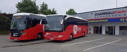 Scania - Mercedes Toursimo
