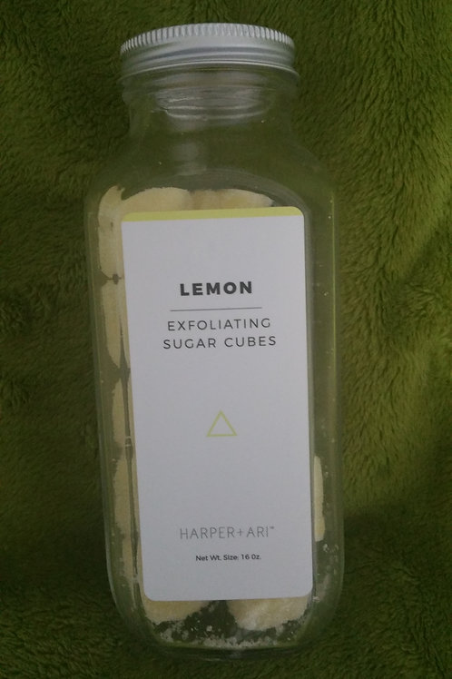 Lemon Exfoliating Sugar Cubes