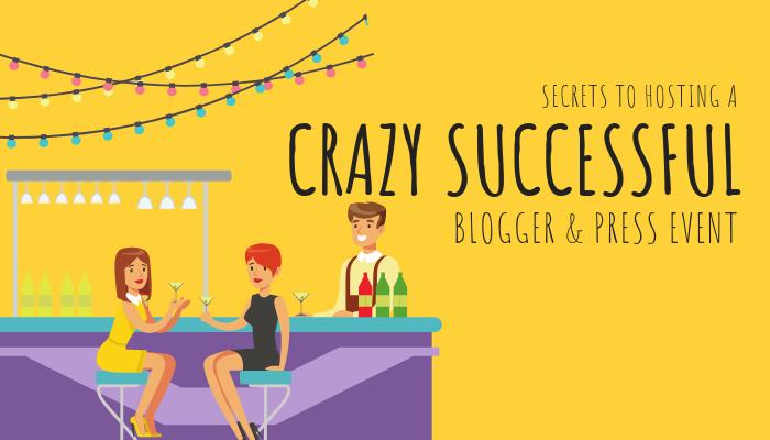 Secrets To Hosting A Crazy Successful Blogger & Press Event