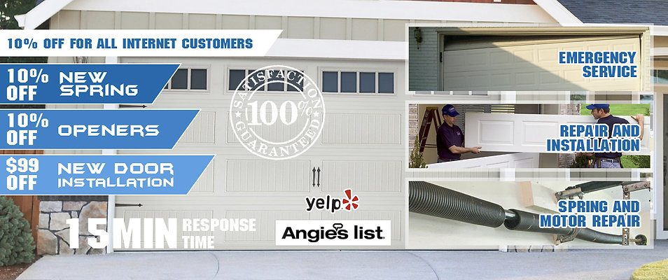 flushing garage doors repair