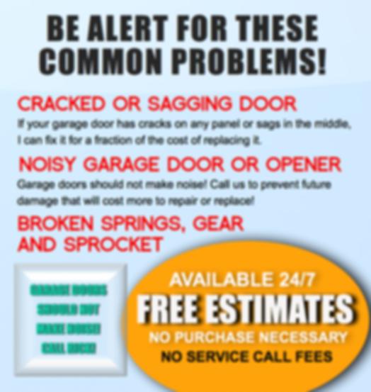 garage door free estimate long island ny