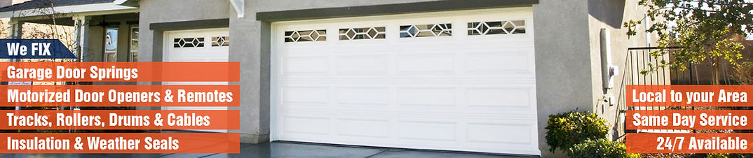 call today and get same day garage door repair service