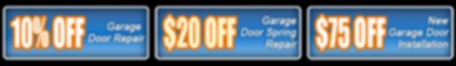 discount garage door repair