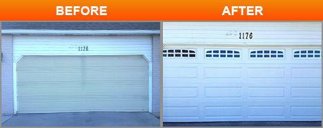 fix garage door installtion