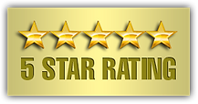 we are a 5 star review company in long island