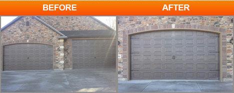 repair new garage door
