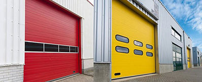 we offer a variety of differnt commercial garage doors in long island