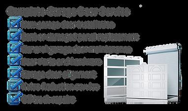 residential garage door installation in long island