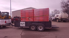 Pallet Master 720 Pallet Delivery Trailer Manufactured by Sage Supply