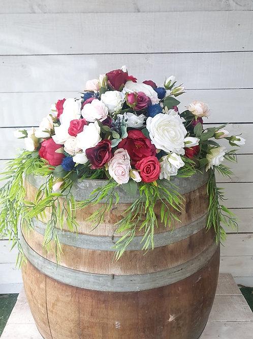 Ruby Blue Bridal Table
